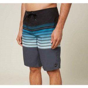 O'NEILL Men's Swim Boardshort Size 30 Striped